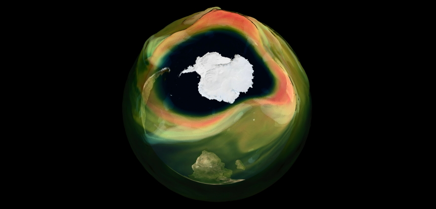 Hole in ozone